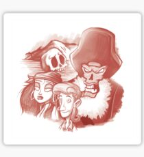 Monkey Island Sticker