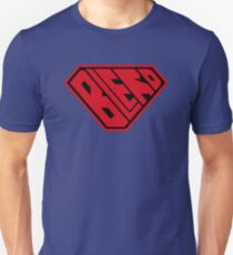 Blerd SuperEmpowered (Red and Black) Unisex T-Shirt