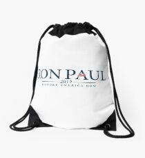 Ron Paul 2012 - Restore America Now Drawstring Bag