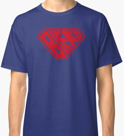 Blerd SuperEmpowered (Red) Classic T-Shirt