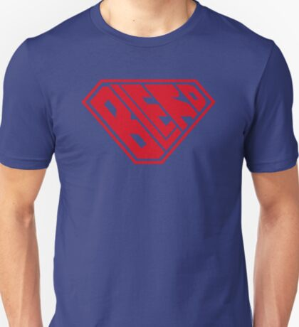 Blerd SuperEmpowered (Red) T-Shirt