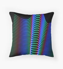 Wave of Light Throw Pillow