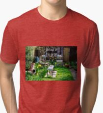 Garden workout Tri-blend T-Shirt