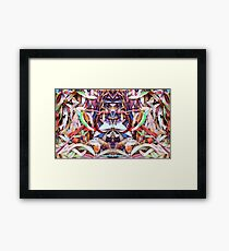 Leaves Organized II Framed Print