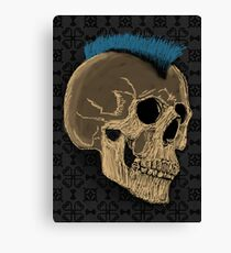 Punk Skull Canvas Print