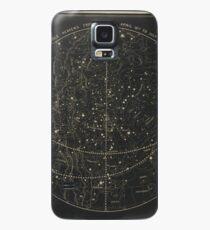 Vintage Astronomische & Himmelskarte (1850) Hülle & Klebefolie für Samsung Galaxy