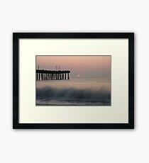 Virginia Beach Sunrise Framed Print