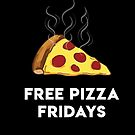 Free Pizza Fridays (White Text) by 4everYA