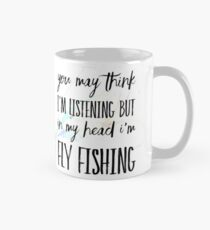 Fly fishing Mug