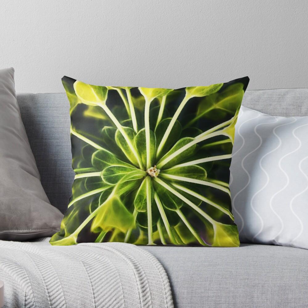 Euphorbia - fractal Dekokissen