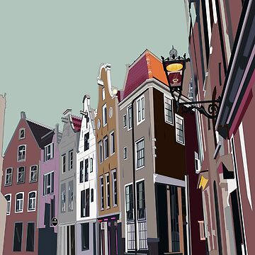 Amsterdam buildings by juliechicago