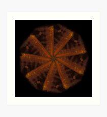 WDVT Mandala - 0045 - Wash 4 Art Print