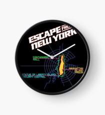 ESCAPE FROM NEW YORK - CITY MAP Clock