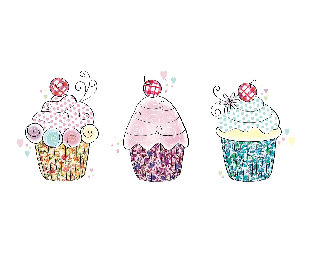 Cup cakes by sallyally