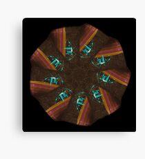 WDVT Mandala - 0047 - Sewing by Stride Canvas Print