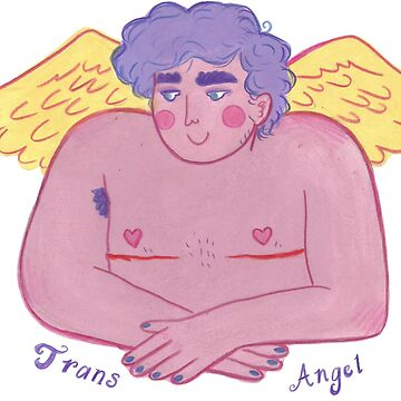 transgender angel (with text) by plntboy