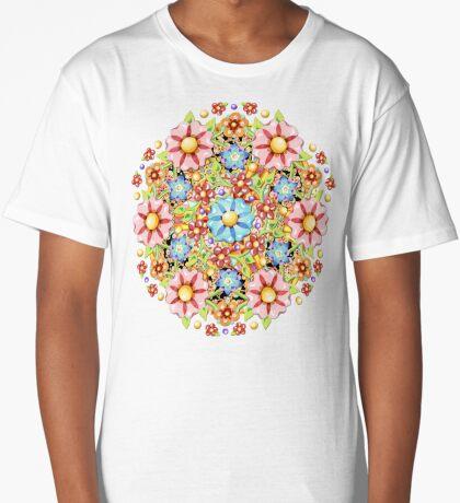 Boho Chic Millefiori Long T-Shirt