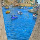 Seen through LOVE, St Julians Malta by Rosalie M