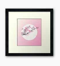 [3.26—3.30] First Cherry Blossoms Framed Print