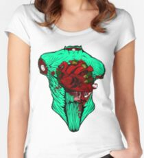 PDG hearth Women's Fitted Scoop T-Shirt