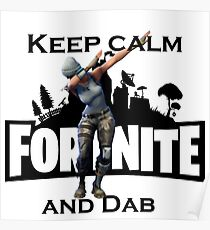 Keep calm and Dab Poster