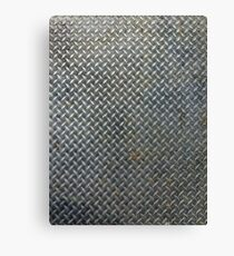 Grunge Metal Grate Canvas Print