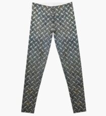 Grunge Metal Grate Leggings