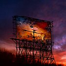 Trump Billboard Outside Blue Wave City .5 by Alex Preiss