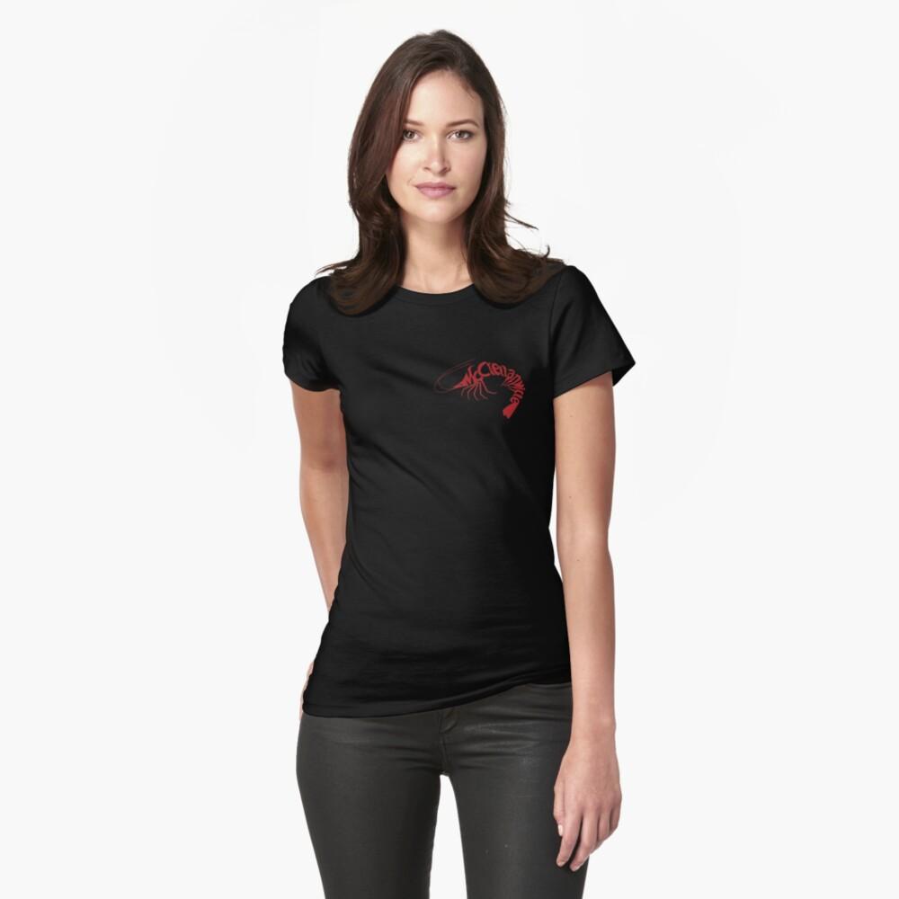 McClellanville Shrimp Logo Women's T-Shirt Front