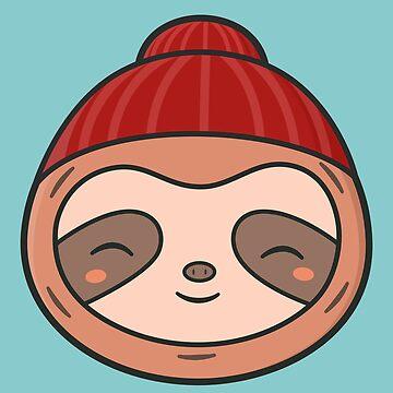 Kawaii Cute Sloth by happinessinatee