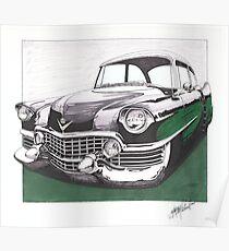 1954 Cadillac  Poster