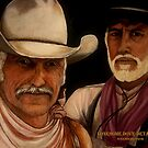 Lonesome Dove- Detail Study by Susan McKenzie Bergstrom