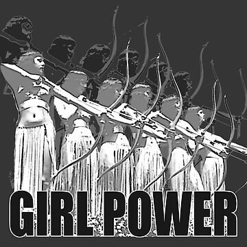 HD - Girl Power / Show strength! by mindthecherry