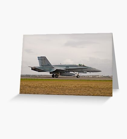 F/A-18 Hornet Greeting Card