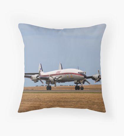 Super Connie Throw Pillow