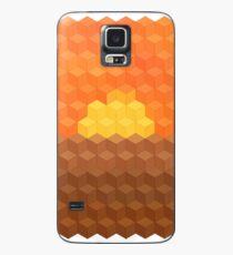 Axonometric Sunset Case/Skin for Samsung Galaxy