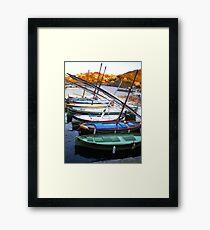 barque catalane Framed Print