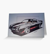 Camaro Z28 Greeting Card
