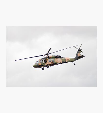 Formidable Blackhawk  Photographic Print