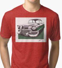 1954 Cadillac  Tri-blend T-Shirt