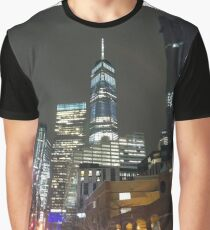 High-rise Building, Tower Block, Skyscraper Graphic T-Shirt