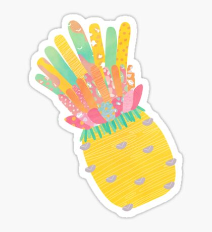 Pineapple Party V2 Sticker