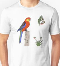 Western Rosella Unisex T-Shirt