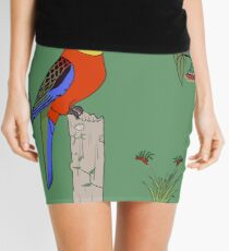 Western Rosella Mini Skirt