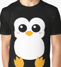 Cute Pinguin Graphic T-Shirt