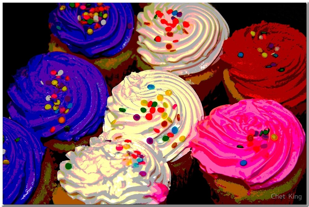 Cup Cakes by Chet  King