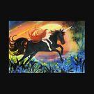 Black Thunder  the Unicorn  by Vickyh