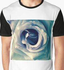Blue Rose Graphic T-Shirt