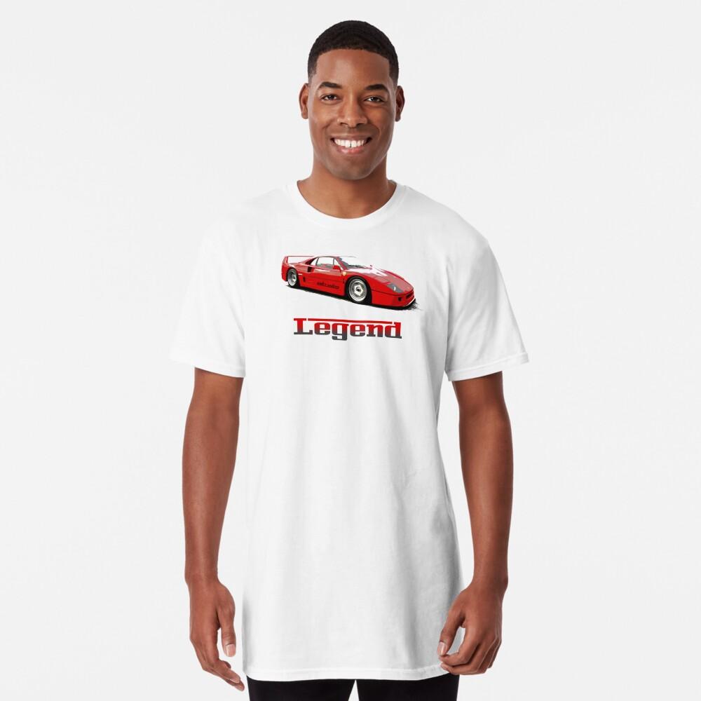 Shift Shirts The Legend  Long T-Shirt