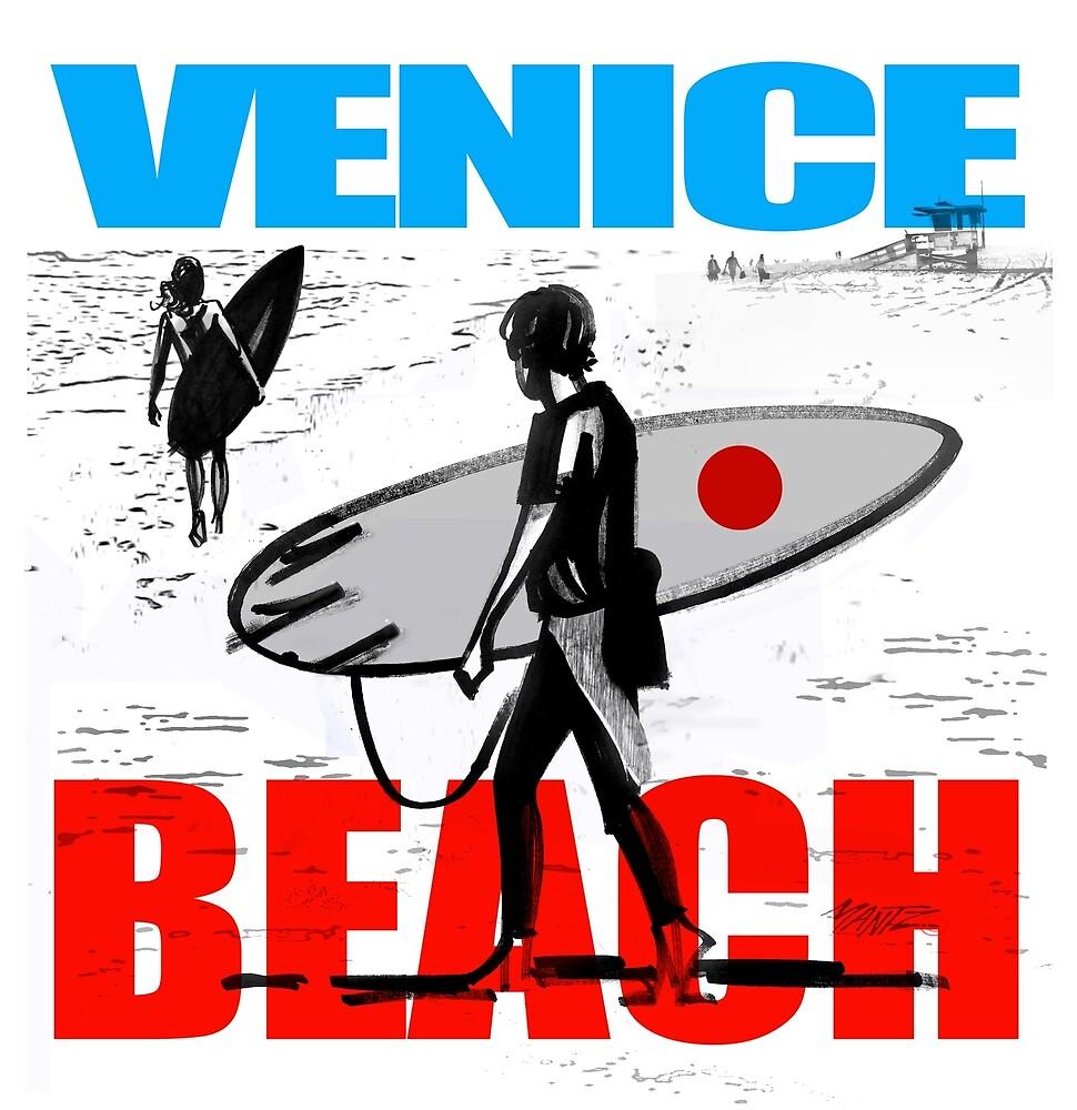 Venice Beach Surf Fantasy By Richard Mantz Redbubble